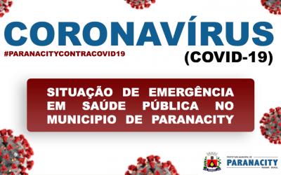 Decreto de Emergência Para Enfrentamento da Pandemia Provocada pelo Novo Coronavírus – COVID19