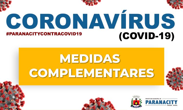 Decreto 040/2020 – Medidas complementares ao enfrentamento do COVID19