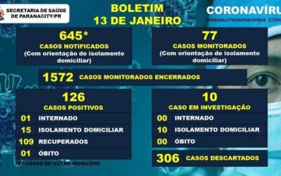 Comunicado municipal sobre o aumento dos casos de COVID-19