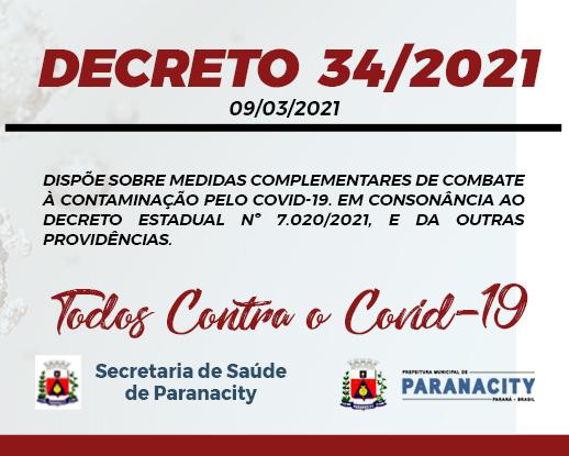 Decreto  34/2021