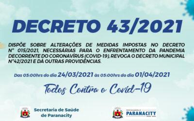 Decreto 43/2021