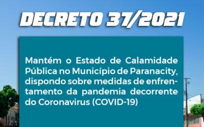 Decreto 37/2021