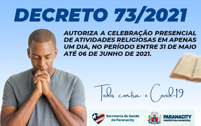 Decreto 73/2021