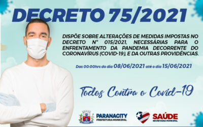 Decreto nº 75/2021