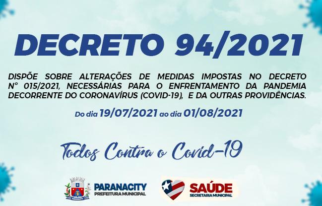 Decreto  94/2021