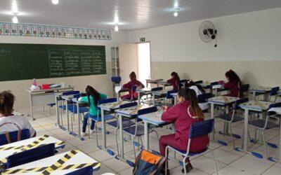 Retorno das aulas do ensino fundamental municipal.